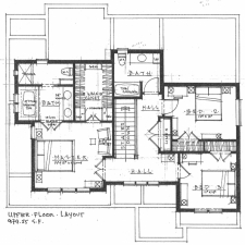 Plan A - Upper Floor